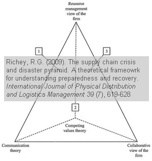 The supply chain crisis and disaster pyramid
