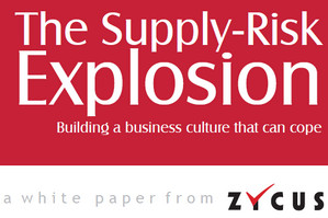 Zycus Supply Risk Explosion